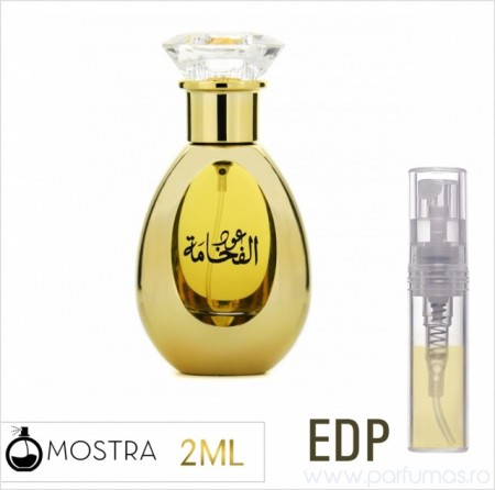 Afnan Oudh Al Fakhamah 2ml - Apa de Parfum