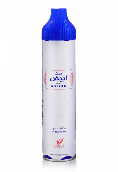 Air Freshener Afnan Musk Abiyad 300ml - Spray de camera