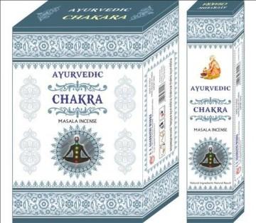 Betisoare Parfumate Ayurvedic Chakra