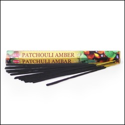 Betisoare Parfumate Patchouli Amber