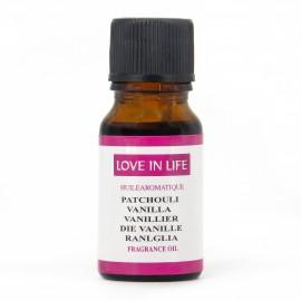 Ulei parfumat Patchouli Vanilla 10ml