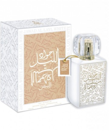 Khalis Jawad Al Layl White 100ml - Apa de Parfum