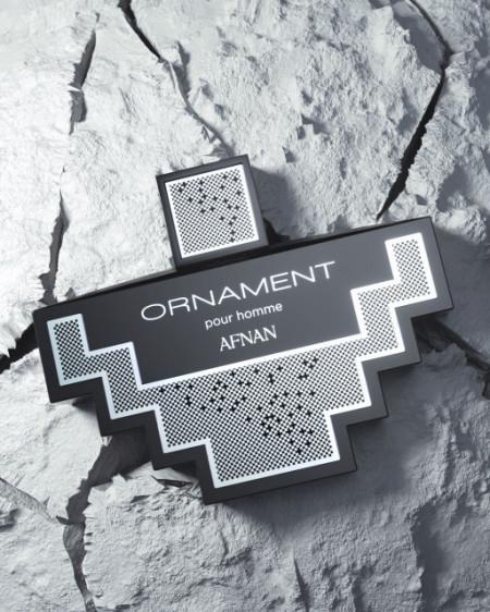 Afnan Ornament Black