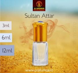 Al Haramain Sultan Attar 6ml - Esenta de Parfum