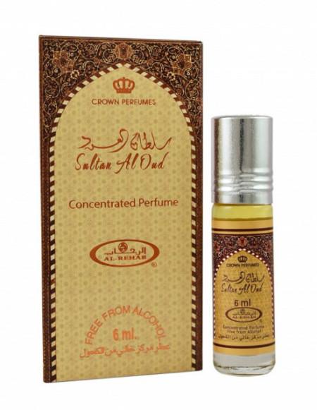 Al Rehab Sultan Al Oud 6ml - Esenta de Parfum