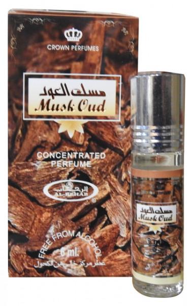 Al Rehab Musk Oud 6ml - Esenta de Parfum