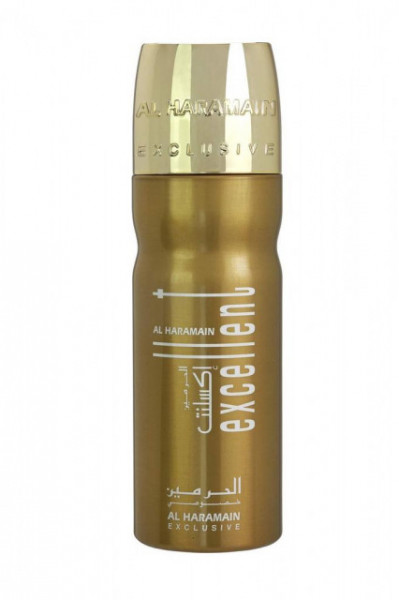 Deo Al Haramain Excellent Gold 200ml - Deodorant Spray