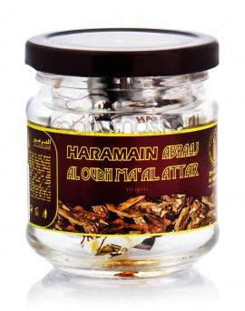 Al Haramain Abraaj Al Oudh Ma'al Attar 50g - Lemn aromat