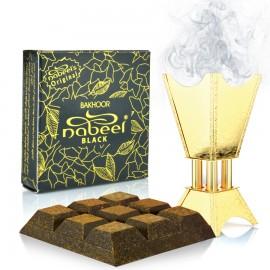 Bakhoor Nabeel Black 40g - Carbuni aromati