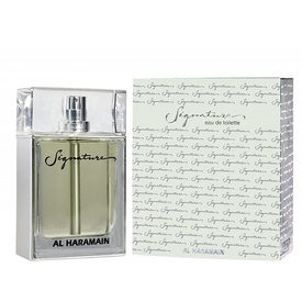 Al Haramain Signature Silver For Men 100ml