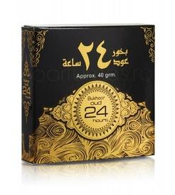 Bukhoor Oud 24 Hours 40g - Carbuni aromati