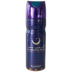 Deo Al Haramain Badar 200ml - Deodorant Spray