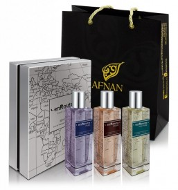 Afnan EnRoute pour Homme 3 x 50ml - Apa de Parfum