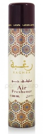 Air Freshener Lattafa Raghba 300ml - Spray de camera