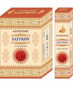 Betisoare Parfumate Ayurvedic Saffron