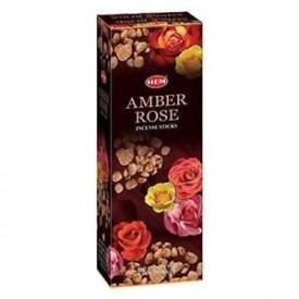 Betisoare Parfumate Amber Rose