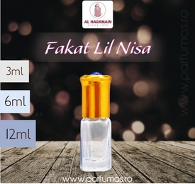 Al Haramain Fakat Lil Nisa - Esenta de Parfum