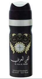 Deo Lattafa Al Fen Al Arabi Silver 200ml - Deodorant Spray