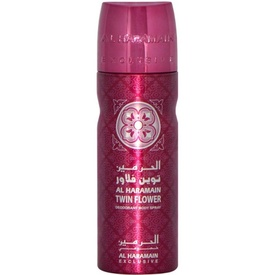 Deo Al Haramain Twin Flower 200ml - Deodorant Spray