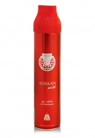 Air Freshener Afnan Alwaan Red 300ml - Spray de camera