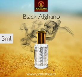 Al Haramain Black Afghano - Esenta de Parfum