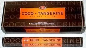 Betisoare Parfumate Coco-Tangerine