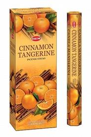 Betisoare Parfumate Cinnamon Tangerrine / Scortisoara Mandarina