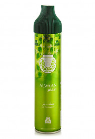 Air Freshener Afnan Alwaan Green 300ml - Spray de camera