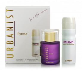 Al Haramain Urbanist Femme COMBO SET 100ml - Apa de Parfum