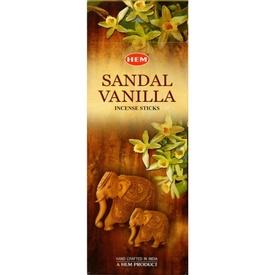 Betisoare Parfumate Sandal Vanilla