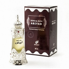 Afnan Dehn Al Oudh Abiyad 20ml - Esenta de Parfum