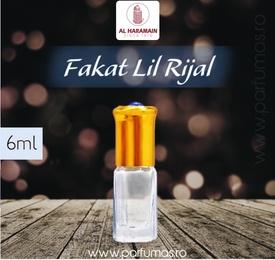 Al Haramain Fakat Lil Rijal - Esenta de Parfum