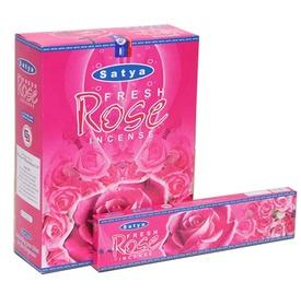 Betisoare Parfumate Satya Fresh Rose
