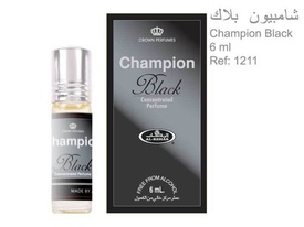 Al Rehab Champion Black 6ml - Esenta de Parfum