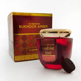 Bukhoor Amber 80g - Carbuni aromati