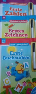 Prima mea carte in limba germana cu carioca (sterge si rescrie)