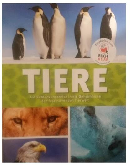 Tiere – Enciclopedia animalelor in limba germana
