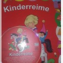 Cantece in limba germana – Kinderreime (CD + carte -10 pagini cartonate)
