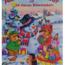 Adventkalender mit 24 kleinen Bilderbuchern