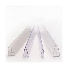 Profil de policarbonat tip U de capat Plastic Prest