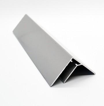 Profil din aluminiu tip F 90 de grade Plastic Prest