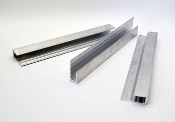 Profile din aluminiu de capat tip U Plastic Prest