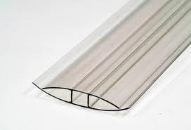 Profil policarbonat tip H de imbinare Plastic Prest