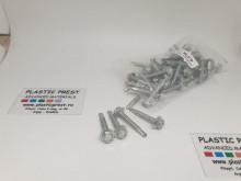 Autoforante tratate pentru saibe EPDM si presoare din aluminiu