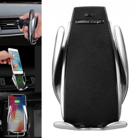 Suport auto cu incarcare wireless, senzor inteligent si fast charger