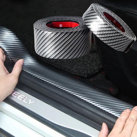 Rola Protectie Carbon Praguri - portbagaj