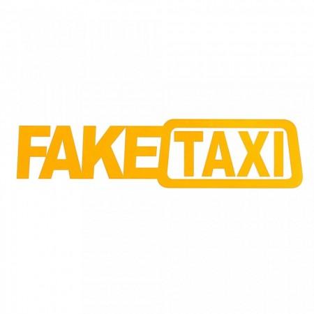 Sticker Abtibild autocolant *FAKE TAXI*