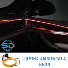 Fir cu neon 5 metri 12V Tuning interior Lumina ambientala autoturism