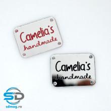 Placute, etichete Handmade personalizate cu numele tau (SET 5 buc)