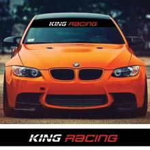 Parasolar auto *KING RACING* + Kit instalare